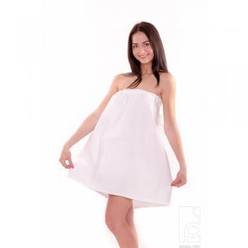 """Женское парео сарафан для бани и сауны """"SP"""" 100% хлопок"""