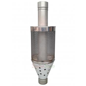 Сетка на трубу для сауны, нержавейка (труба 120мм L1,0м; 1,0мм!)