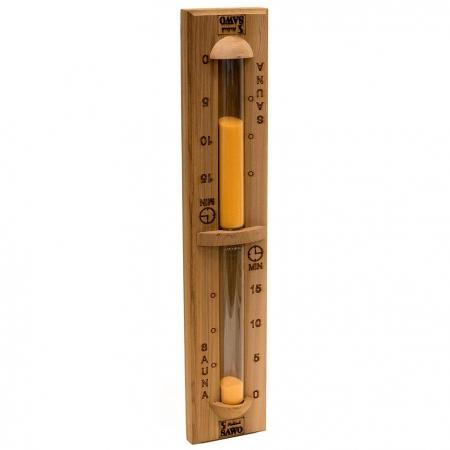 Песочные часы для сауны из кедра Sawo 551-D