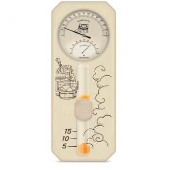 "Термометр гигрометр для бани ""Банная станция Виктер-3"""