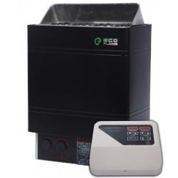 Электрокаменка для сауны и бани Eco Flame AMC 60-D 6 кВт + пульт CON4