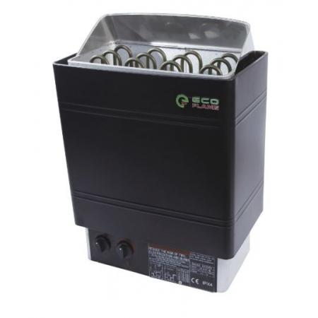 Электрокаменка для сауны и бани Eco Flame AMC-60 STJ 6 кВт пульт на корпусе