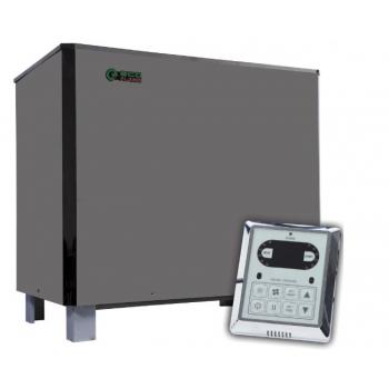 Электрокаменка для бани Eco Flame SAM D-18 18 кВт + пульт CON6