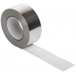 Скотч алюминиевый термостойкий, 50мм 50м/п