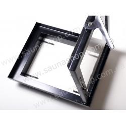 Дверца для печи или камина Valte Slim 400/400 (посадочный размер 316/316мм)