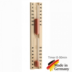 Песочные часы для сауны, бани TFA Dostmann, таймер 0-30мин.