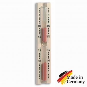 Песочные часы для сауны, бани TFA Dostmann,  0-15мин.