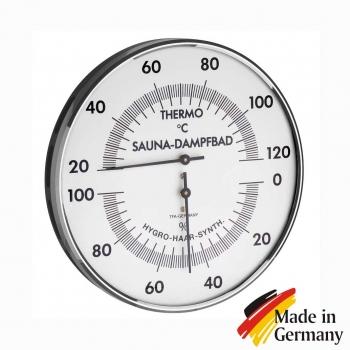 Термогигрометр биметаллический для бани TFA-Dostmann, D132mm Германия