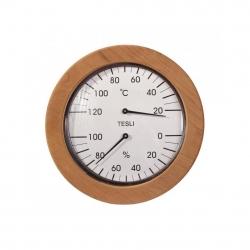 Термогигрометр для бани из термолипы, Tesli-145