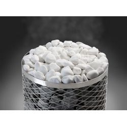Белые декоративные камни для бани, 10кг. Финляндия