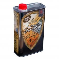 Средство для пропитки древесины в бане «Ладний захист», 1л Украина