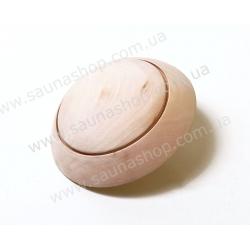 Грибок вентиляционный клапан для сауны липа, 100мм