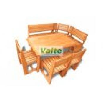 Деревянная мебель для бани и сауны VALTE