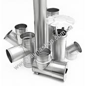 Одностенные трубы VALTE из нержавейки толщиной 0.5мм