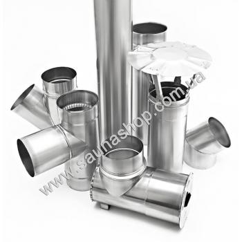 Дымоходные трубы из нержавеющей стали