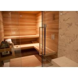 Двери в бане или сауне – какими они должна быть