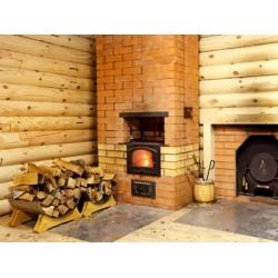 Устройство и принцип действия  дровяных печей для бани