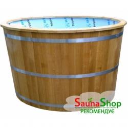 Купель из полипропилена для бани