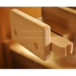 Стеклянные двери для саун VALTE 700*1900 бронза 8мм