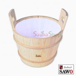 Запарник для бани Sawo 381-P без крышки со вставкой, 18л