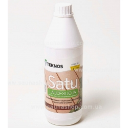 Защитное масло для полок Teknos Sauna Natura,1.0л Финляндия
