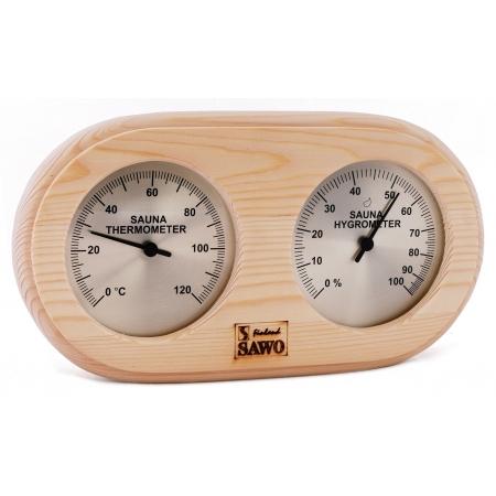 Термометр гигрометр для бани Sawo 222-THP