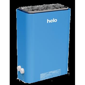 Настенная электрокаменка Печь Helo VIENNA 60 STS голубая или серая