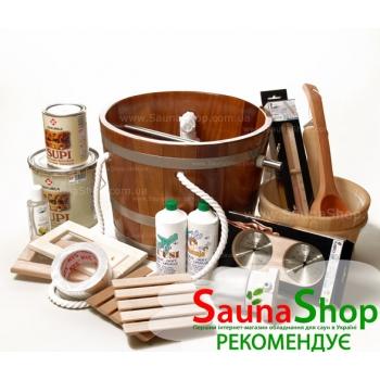 Аксессуары для бани, все для сауны в Киеве