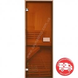 Двери для сауны стеклянные VALTE Бронза ЕКО