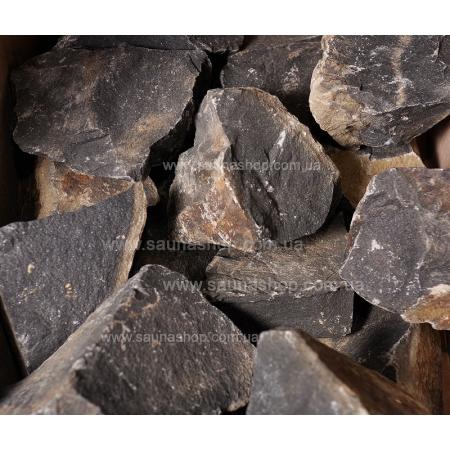 Камни для бани базальт колотый, 20 кг