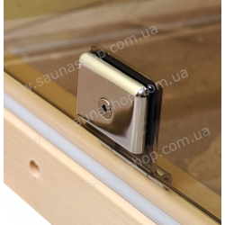 Двери для бани VALTE 630*1750 белый мат