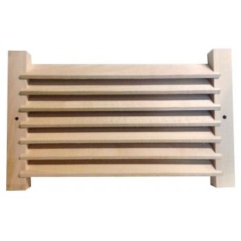 Решетка вентиляционная липа 240*150(125мм)мм