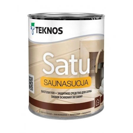 Пропитка для вагонки Teknos Saunasuoja, 0,9л
