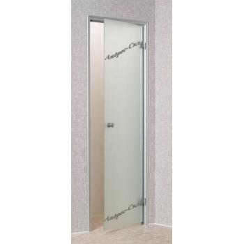 Дверь для парной Andres 800*1900 белая матовая
