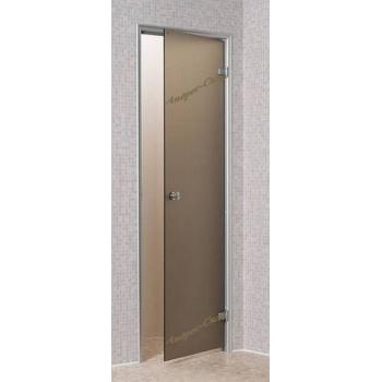 Дверь для парной Andres 700*1900 бронза матовая