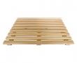 Трап деревянный для пола сауны 500*600*48мм, ольха