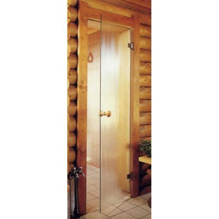 Двери для бани Andres Белая матовая 700*1900
