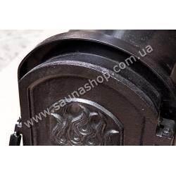 Дровяная печь PAL PR-18 с внутренней чугунной дверцей
