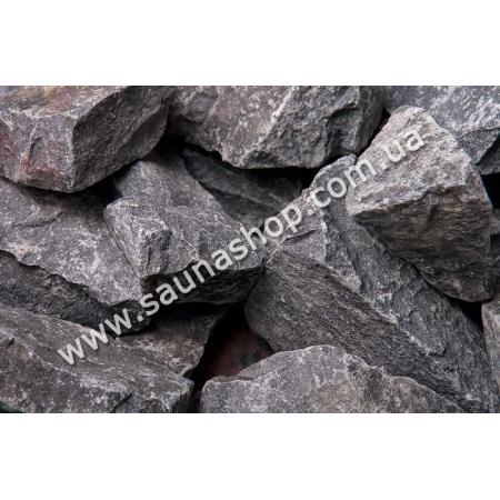 Камни для бани диабаз колотый, 20 кг.