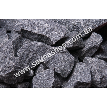 Камни для сауны - бани HARVIA, 20кг (оригинальные финские, порода габбродиабаз)