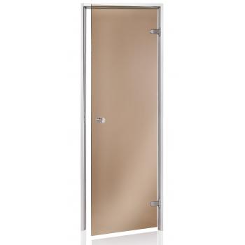 Дверь для парной Andres 800*2000 бронза матовая