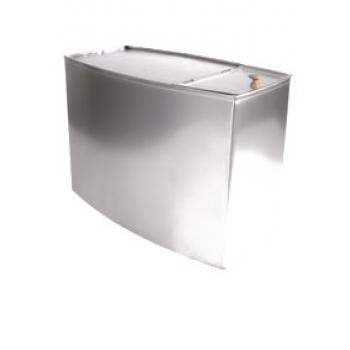 Бак для воды выносной 80л, п-льТеплодар нержавейка 0,8мм