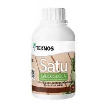 Защитное масло для полок Teknos Sauna Natura,0.25л Финляндия