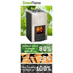 Harvia Green Flame