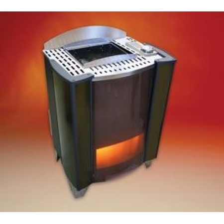 Bi-O Germanius 15kWt напольная печь с испарителем для семейной и гостиничной сауны