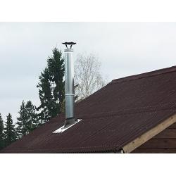 Проход крыши Мастер флеш силикон 300-400мм угловой