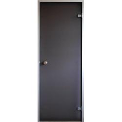 Двери для парной (хамам) Saunax НОВИНКА бронза прозрачная