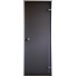 Двери для парной saunax бронза матовая