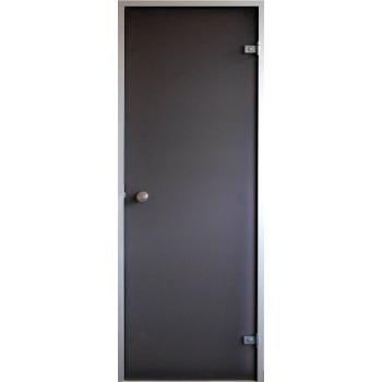 Двери для парной (хамам) Saunax НОВИНКА бронза матовая