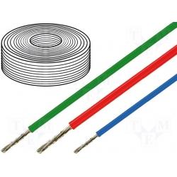 Термостойкий силиконовый провод SIF (SIAF) одножильный  сечение  0.75; 1.0; 1,5; 2,5